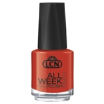 All Week Long - kiss me sweetheart nail polish, extended wear polish, top coats, nails, nail art