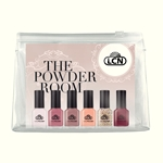 "Nail Polish Set - ""The Powder Room"" color gel, gel polish, hard gel, nail polish"