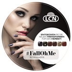 Window Sticker #FallOhMe nails, nail polish, polish, vegan, essie, opi, salon, nail salon, gift set