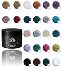 6 for $60 Colour Gel Glitter color gel, hard gel, luxury, nails, manicure, artificial nails